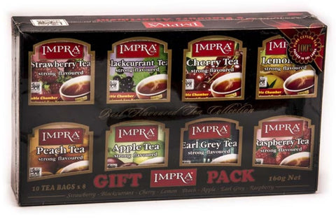 Impra Flavour Collection Ceylon Black Tea, 80 Count Tea Bags
