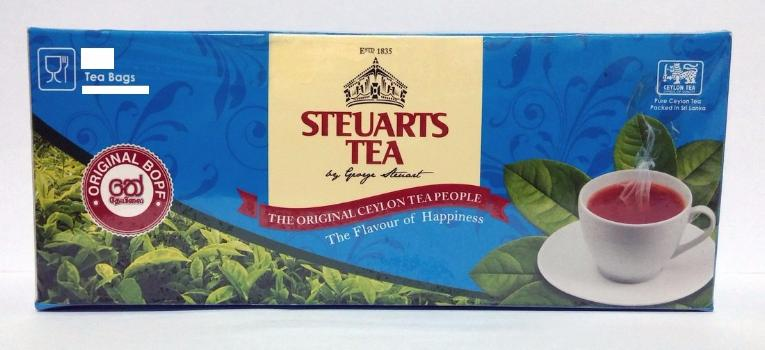 Steuarts Tea, 50 Count Tea Bags
