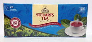 Steuarts Tea, 25 Count Tea Bags