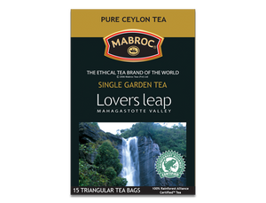 Mabroc Lovers Leap Pure Ceylon Tea, 15 Count Tea Bags