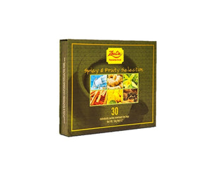 Zesta Spicy And Fruity Selection Ceylon Black Tea, 30 Count Tea Bags
