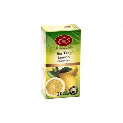 Tea Tang Lemon Flavoured Ceylon Black Tea, 20 Count Tea Bags
