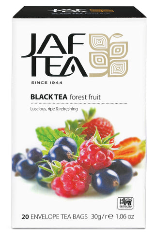 Jaf Forest Fruit Ceylon Black Tea, 20 Count Tea Bags