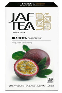 Jaf Passionfruit Ceylon Black Tea, 20 Count Tea Bags