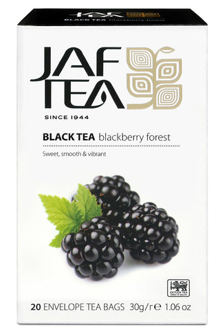 Jaf Blackberry Forest Ceylon Black Tea, 20 Count Tea Bags