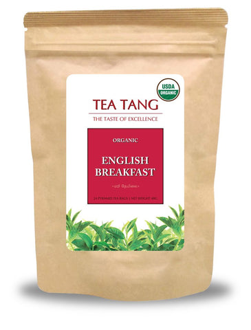 Tea Tang Organic English Breakfast, 24 Count Tea Bags