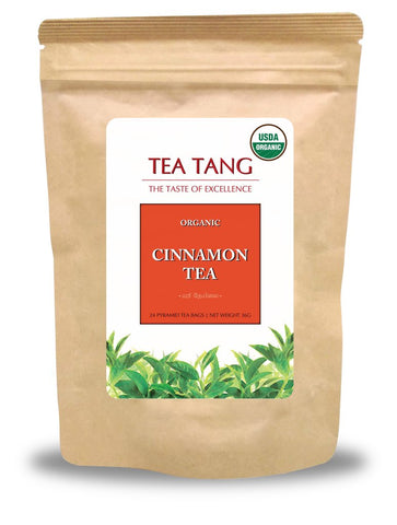 Tea Tang Organic Cinnamon Ceylon Black Tea, 24 Count Tea Bags