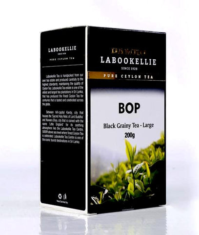 Damro Labookellie BOP Pure Ceylon Black Tea, Loose Tea 200g
