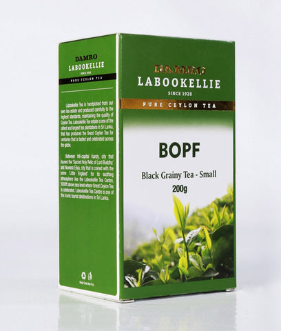 Damro Labookellie BOPF Pure Ceylon Black Tea, Loose Tea 200g