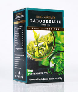 Damro Labookellie Peppermint Flavoured Pure Ceylon Black Tea, Loose Tea 100g