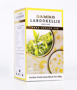 Damro Melfort Green Tea With Camomile, Loose Tea 100g