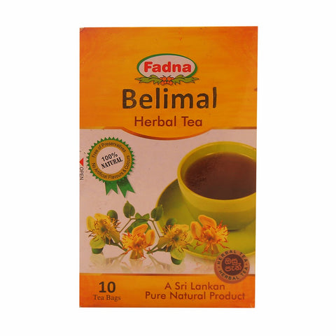 Fadna Belimal Herbal Tea, 10 Count Tea Bags