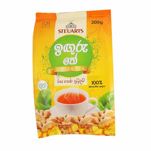 Steuarts Ginger Flavoured Ceylon Black Tea, Loose Tea 200g