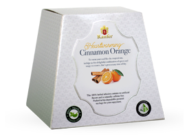 Ranfer Heartwarming Cinnamon Orange, 20 Count Tea Bags