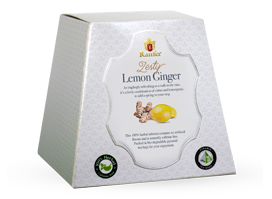 Ranfer Zesty Lemon Ginger, 20 Count Tea Bags