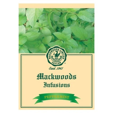 Mackwoods Peppermint Infusion Tea, 25 Count Tea Bags