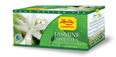 Zesta Jasmine Green Tea, 25 Count Tea Bags