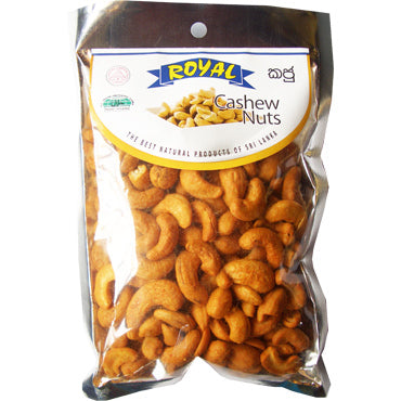 Royal Hot And Spicy Flavoured Cashew Nuts 200g