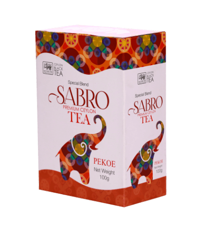 Sabro PEKOE Pure Ceylon Black Tea, Loose Tea 100g