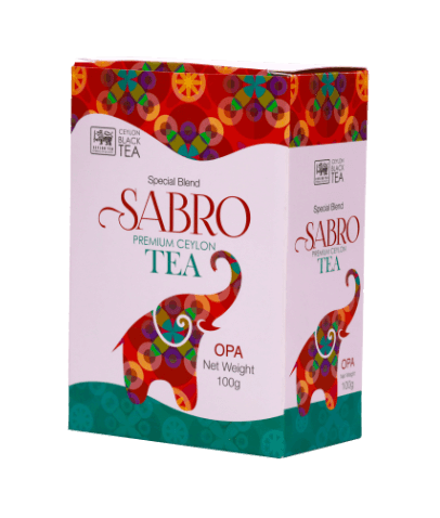 Sabro OPA Pure Ceylon Black Tea, Loose Tea 250g