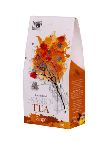 Sabro Ceylon Ginger Tea, Loose Tea 100g