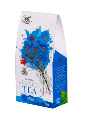Sabro Mint Tea, Loose Tea 100g