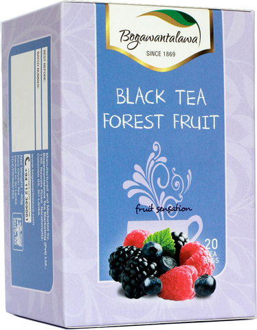 Bogawantalawa Forest Fruit Ceylon Black Tea, 20 Count Tea Bags