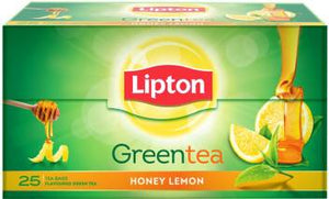 Lipton Honey Lemon Green Tea , 25 Count Tea Bags