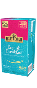 Truly Ceylon English Breakfast, 25 Count Tea Bags