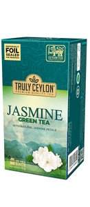 Truly Ceylon Jasmine Flavoured Green Tea, 25 Count Tea Bags