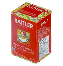 Battler English Breakfast Tea, 20 Count Tea Bags