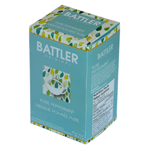 Battler Peppermint Tea, 20 Count Tea Bags