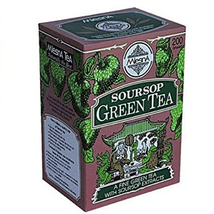 Mlesna Soursop Green Tea, Loose Tea 200g
