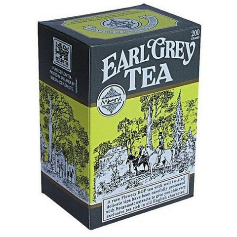 Mlesna Earl Grey Tea, Loose Tea 200g