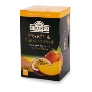 Ahmad Peach And Passionfruit Tea, 20 Count Tea Bags