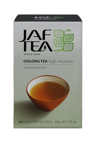 Jaf High Mountain Oolong Tea, 20 Count Tea Bags