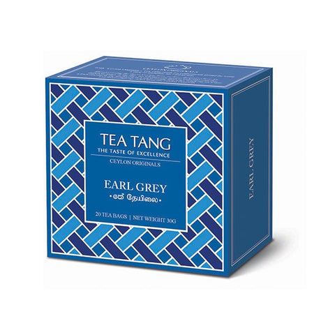 Tea Tang Earl Gray, 20 Count Tea Bags