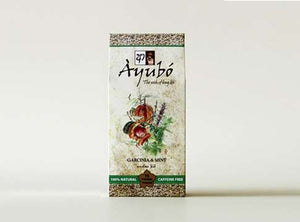 Ayubo Garcinia And Mint Herbal Tea, 15 Count Tea Bags
