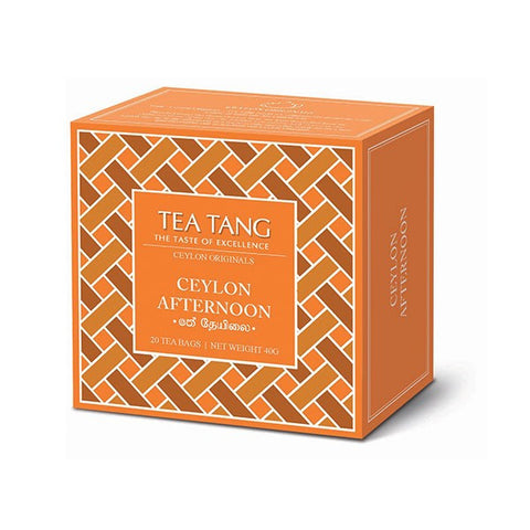 Tea Tang Ceylon Afternoon, 20 Count Tea Bags