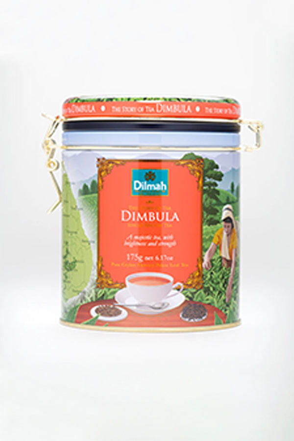 Dilmah Dimbula Ceylon Tea Caddy, Loose Tea 175g