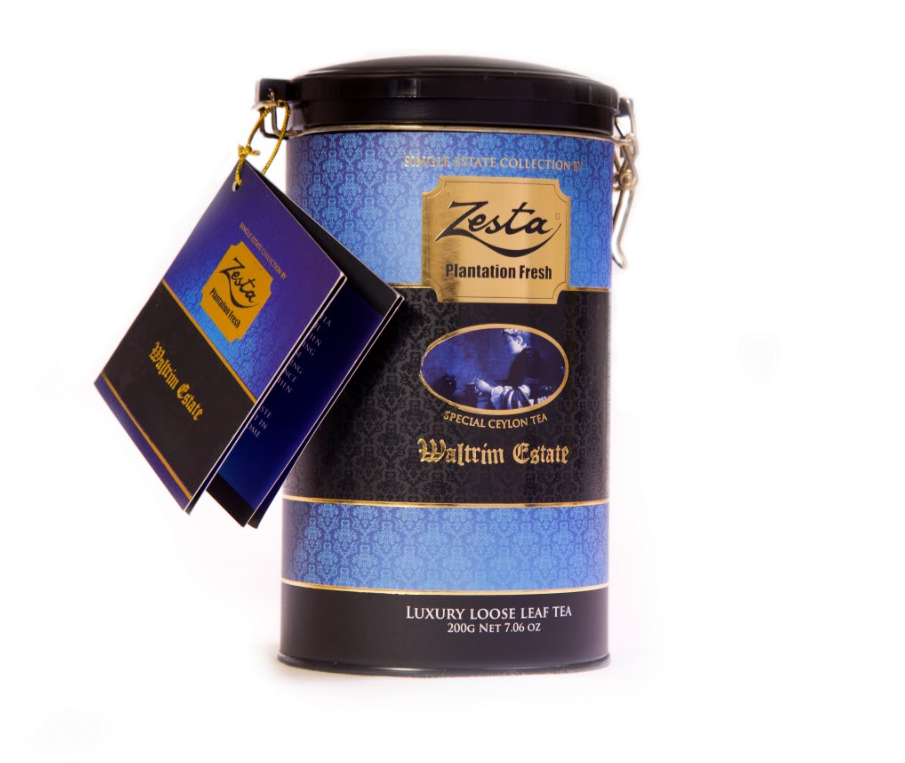 Zesta Waltrim Tin Caddy, Loose Tea 200g