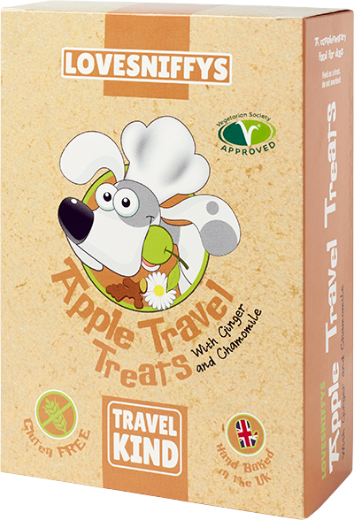 LOVESNIFFYS Apple Travel Treat 100g for Dogs - LOVESNIFFYS