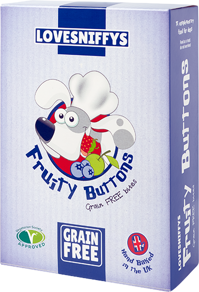 LOVESNIFFYS Fruity Buttons 100g for Dogs - LOVESNIFFYS
