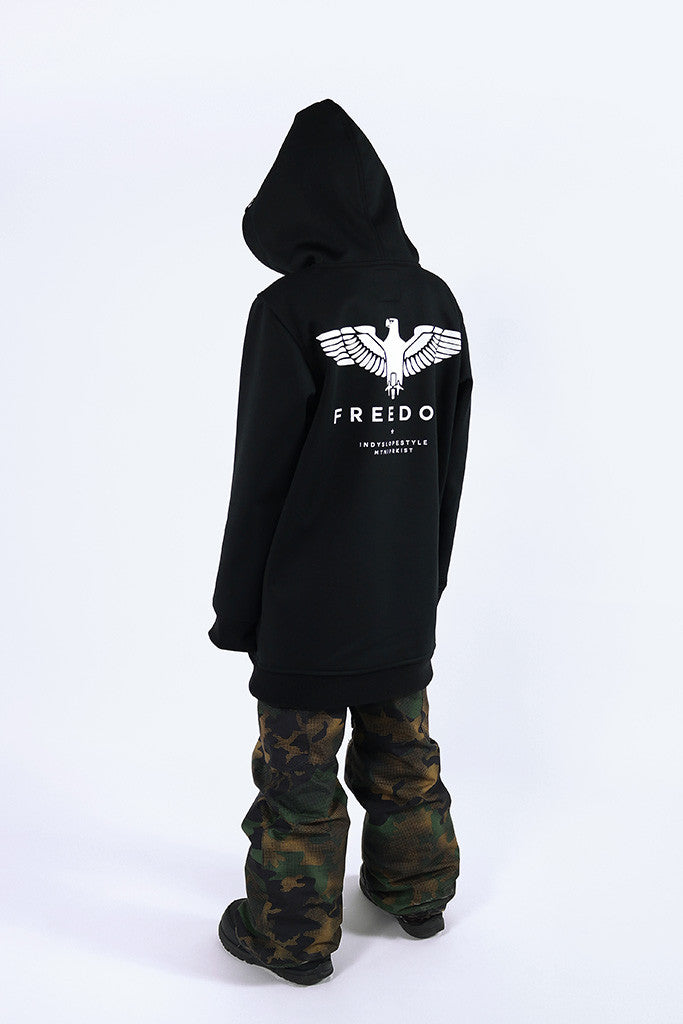 Indyslopestyle Boys Freedom Technical Snowboard Hoodie