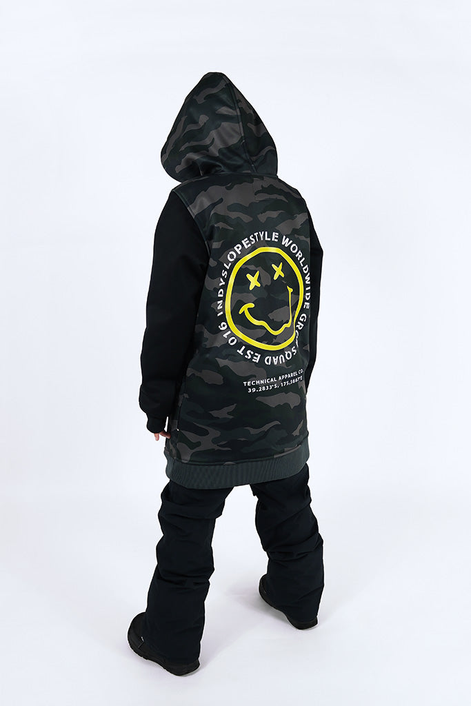 Indyslopestyle Boys Grom Squad Tech Snowboard Hoodie