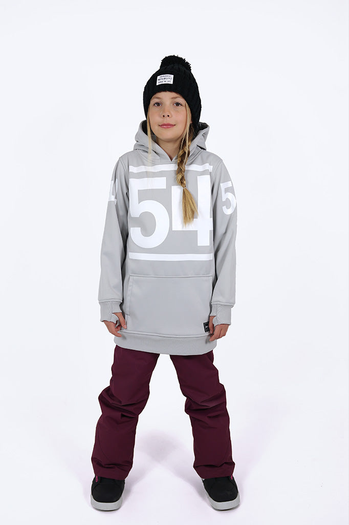 Indyslopestyle Girls 54 Tech Snowboard Hoodie Front