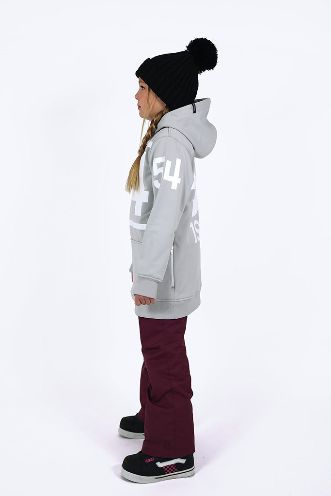 Indyslopestyle Girls 54 Tech Snowboard Hoodie Side 1