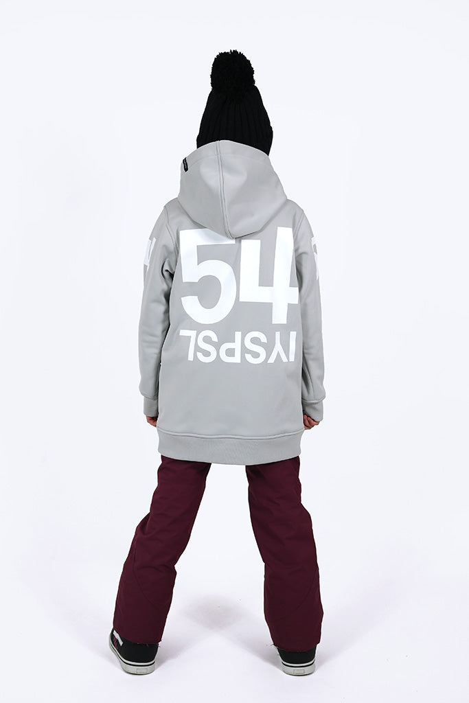 Indyslopestyle Girls 54 Tech Snowboard Hoodie Back
