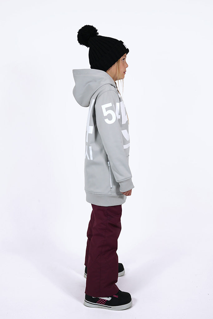 Indyslopestyle Girls 54 Tech Snowboard Hoodie Side 2