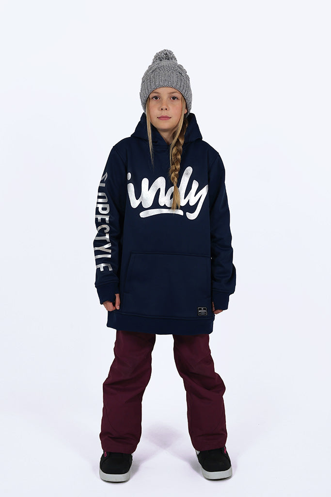 Indyslopestyle Girls Coco Midnight Tech Snowboard Hoodie